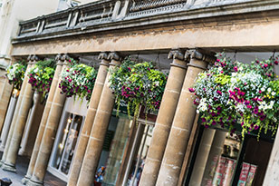 Serviced apartments in central Bath
